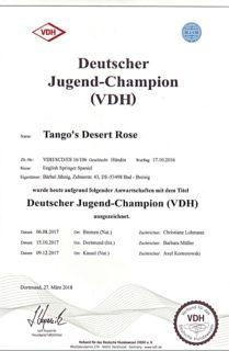 Deutscher-Jugend-Champion(VDH)